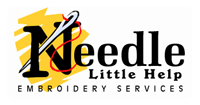 Needle Little Help Embroidery Service